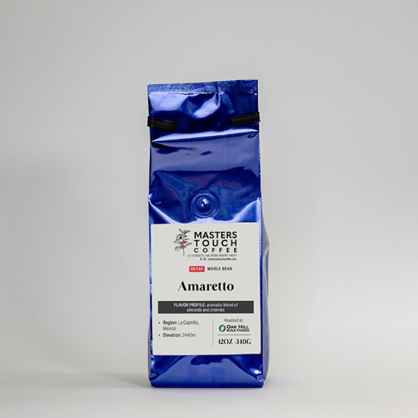 Decaf Amaretto Coffee Beans