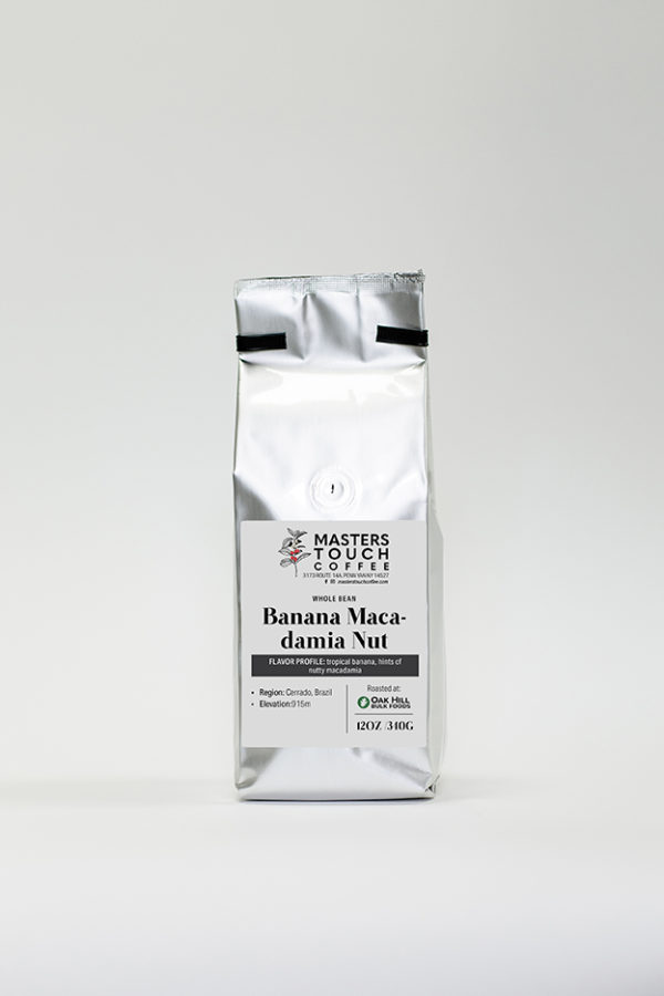 Banana Macadamia Nut Coffee Beans
