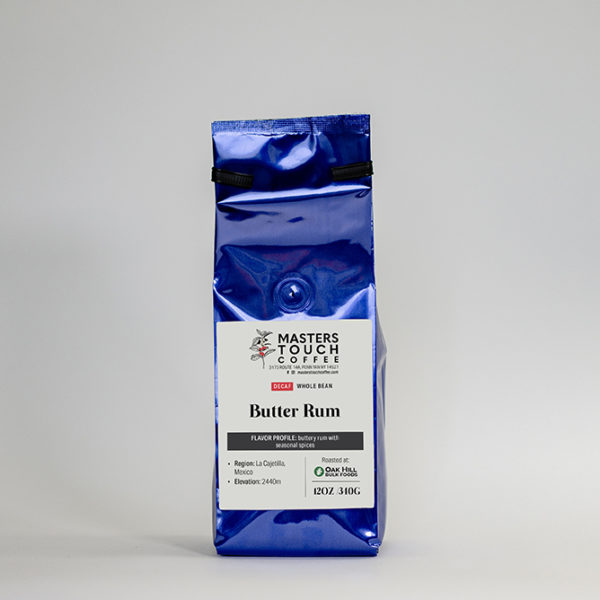 Decaf Butter Rum Coffee Beans