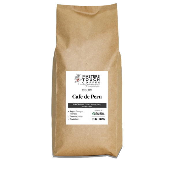 Cafe de Peru -2 pound bag