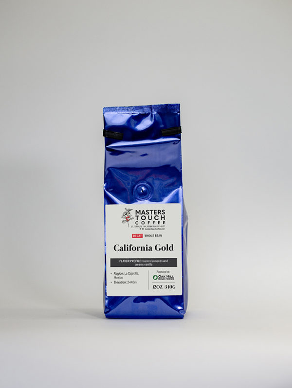 Decaf California Gold Coffee Beans