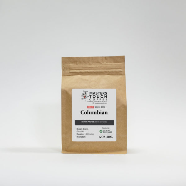 Decaf Columbian Coffee Beans