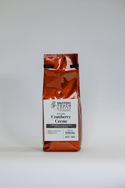 Cranberry Creme Coffee Beans