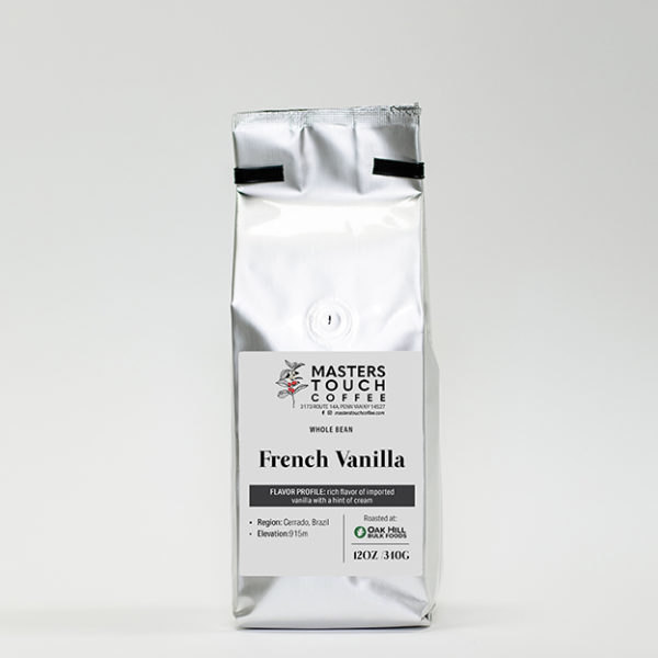 French Vanilla Coffee Beans