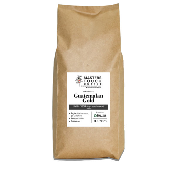 Guatemalan Gold Coffee Beans -2lb bag