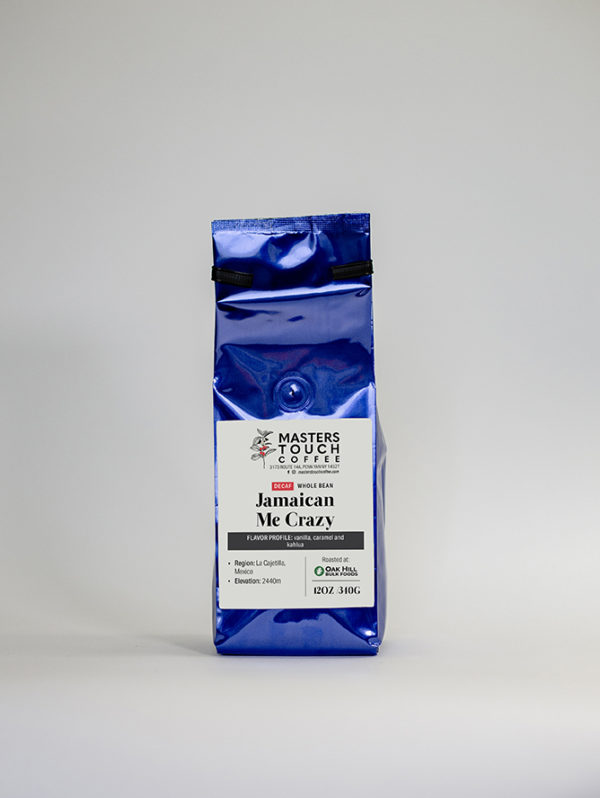 Decaf Jamaican Me Crazy Coffee Beans