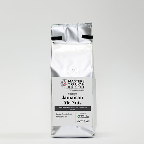 Jamaican Me Nuts Coffee Beans