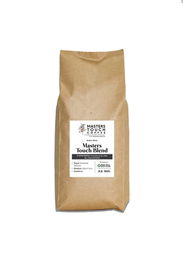 Masters Touch Blend Coffee Beans -2lb bag