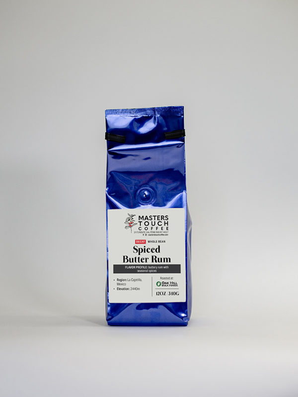Decaf Spiced Butter Rum Coffee Beans