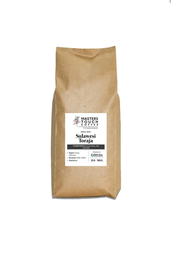 Sulawesi Toraja Coffee Beans 2lb bag