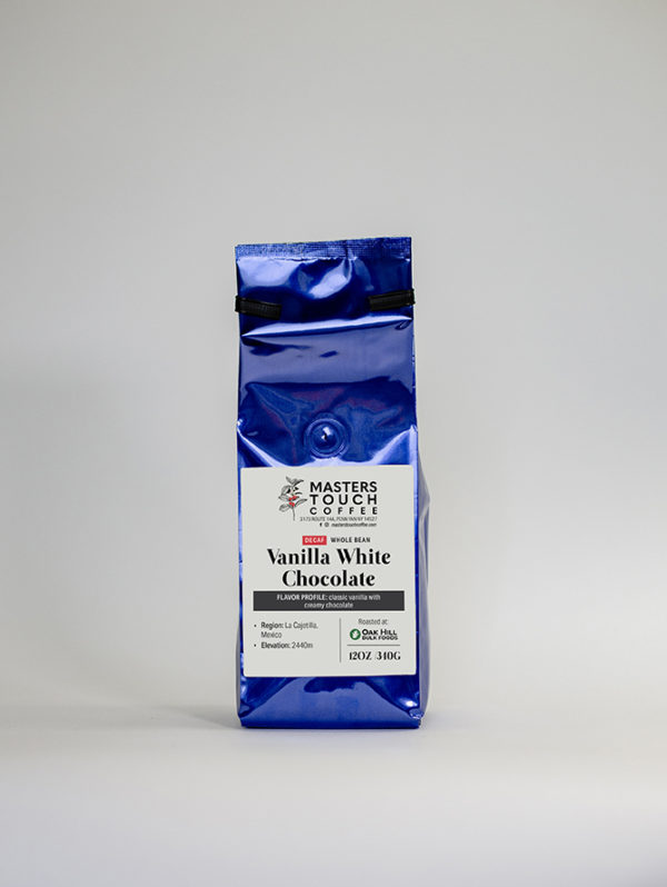Decaf White Chocolate Coffee Beans