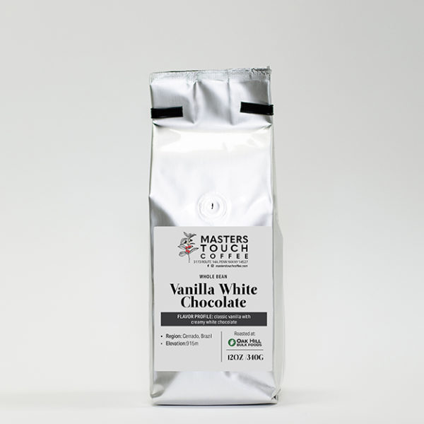 Vanilla White Chocolate Coffee Beans